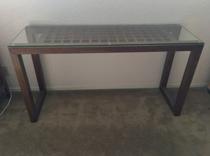 """Beautiful Crate & Barrel Console Table (48""""x16"""") at 70% off! for Sale in Mountain View, CA"""