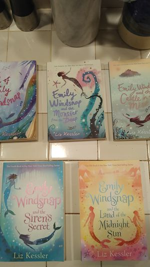 The Tail of Emily Windsnap books 1-5 for Sale in Kenmore, WA