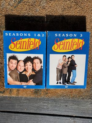 Seinfeld Seasons 1-3. Barely used. for Sale in San Diego, CA