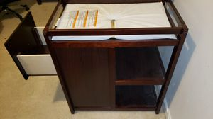 Baby Crib w/ attached changing bed and draws for Sale in Chesapeake, VA