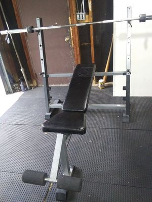 Olympic weight bench for Sale in Joliet, IL