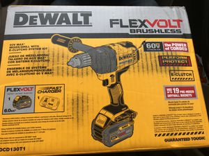 Flex volt drill (brushless 60v) 349 at the STORE for Sale in Wichita, KS