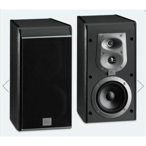 "Two JBL ES20 black 60W 8 ohm 3-way 5"" bookshelf speakers for Sale in San Mateo, CA"
