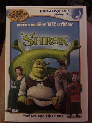 Shrek dvd, like new for Sale in Coral Springs, FL