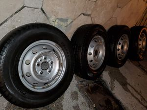 5 lug wheels and tires for Sale in Pembroke Pines, FL