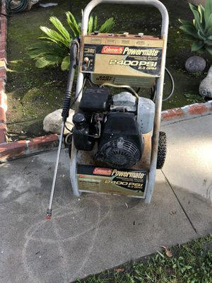 2400 psi pressure washer for Sale in Long Beach, CA