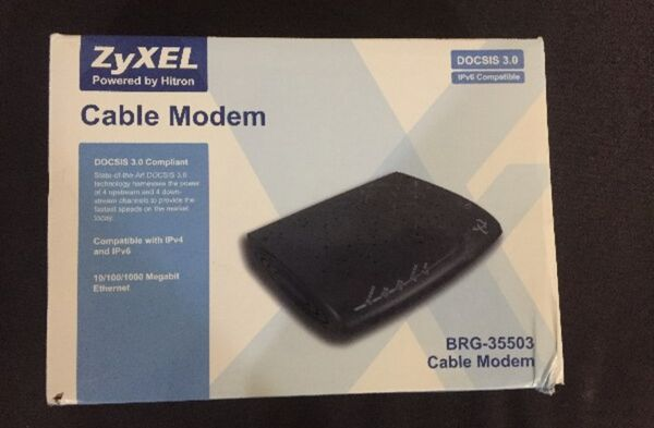 Cable Modem WiFi Internet xfinity comcast