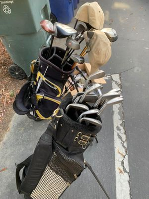 Golf Club, Sets w/ Bag & Hats for Sale in Castro Valley, CA