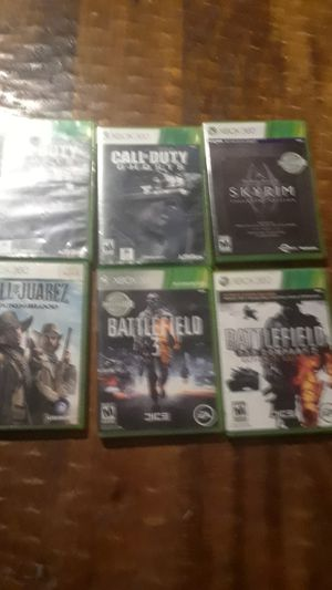 Xbox 360 games good but one is used40$z for Sale in Orangevale, CA