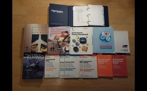 Flight instruction textbooks. 2004 and other various copyright dates. for Sale in Fayetteville, AR