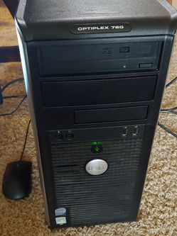 Windows 10 Office or Student Desktop with Monitor Mouse and Keyboard for Sale in Portland,  OR