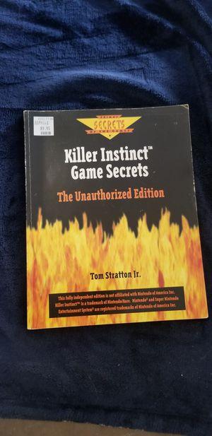 Killer Instinct Game Secrets The Unauthorized Edition for Sale in Murrieta, CA
