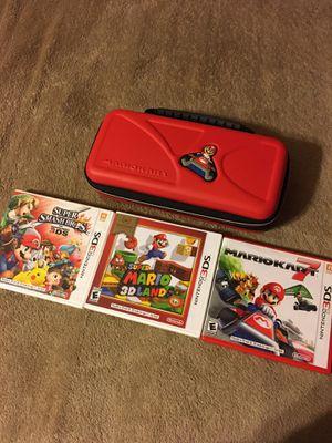 3DS Nintendo games for Sale in Bakersfield, CA