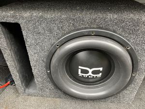 "12"" dc audio level 4 for Sale in Everett, WA"