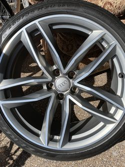 Audi Wheels and tires In Auto parts & accessories for Sale in Phoenix,  AZ