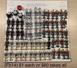 LEGO Star Wars minifigures for Sale in Woodbridge, VA