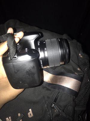 Canon EOS Rebel T3 / EOS 1100D 12.2MP Digital SLR Camera - Black (Kit w/ EF-S DC 18-55mm and EF-S DC 75-300mm Lenses) for Sale in Richmond, VA