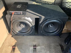 Audio pipe triple StockX speakers for sale hit me up for Sale in Brooklyn, NY