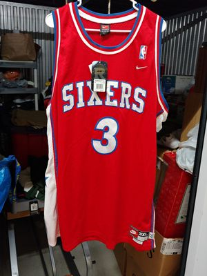 Nike Allen Iverson throwback jersey size 3xl new for Sale in Tampa, FL