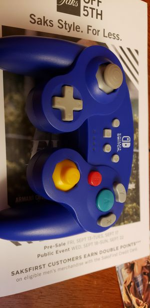 Nintendo switch wireless GameCube controller for Sale in Cumberland, RI
