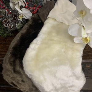 Faux Fur Christmas Stockings for Sale in Fort Lauderdale, FL
