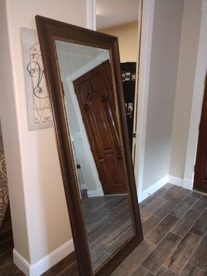 Mirror 33 inches wide 79 inches tall for Sale in Dickinson, TX