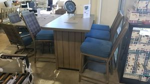 Brand New Outdoor Patio Furniture 5pc Set tax included and free delivery for Sale in Hayward, CA