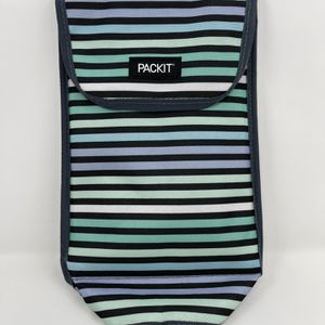 PackIt Freezable Wine Bag Cooler Carrier Striped Tote Insulated for Sale in Lemon Grove, CA