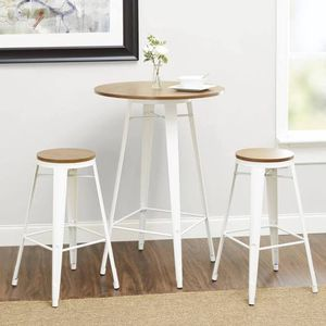 3 piece round dining table set for Sale in San Francisco, CA
