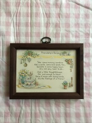 Friendships Recipe Sign Wall Decor for Sale in Fairview Heights, IL