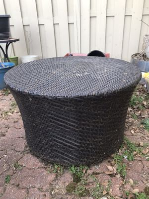 Pier One 'All-weather wicker' coffee table for Sale in Alexandria, VA