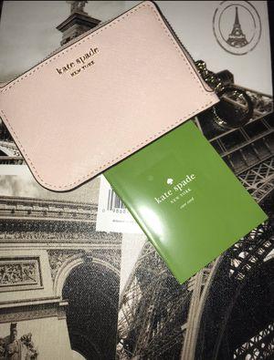 New Kate spade ♠️ light pink keychain/cardholder for Sale in El Monte, CA