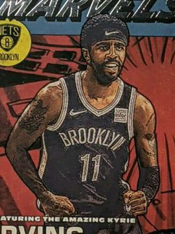 2020-21 Panini Donruss Kyrie Irving Silver Foil NET MARVELS for Sale in Cornelius,  OR
