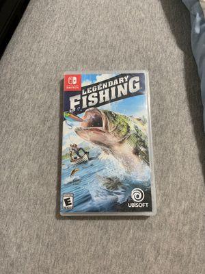 Nintendo Switch Legendary Fishing Game for Sale in Miami Gardens, FL