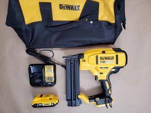 DEWALT 20-Volt Max Lithium-Ion 18-Gauge Cordless Brad Nailer Kit for Sale in Powdersville, SC