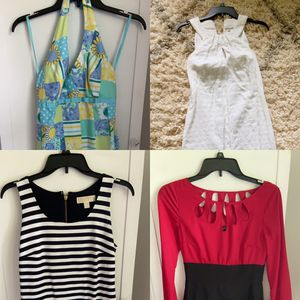 Lily Pulitzer, White House Black Marker, Michael Kors Dresses- size 0/2 or XS for Sale in Ballwin, MO