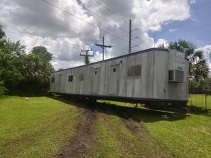 RV Camper office trailer. Just needs power washing for Sale in Palm City, FL