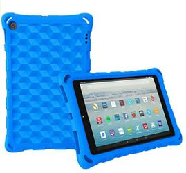 """All-New Amazon Fire HD 10 Tablet Case(2019 2017 2015 Released)-Four Corner Protection Light Weight Shock Proof Back Cover for Fire HD10.1""""Tablets,Blue for Sale in San Marcos,  CA"""