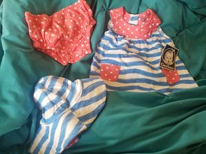 Gerber new with tags dress set for Sale in Ottumwa, IA