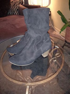 Black boots for Sale in Abilene, TX