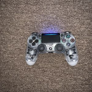 Sony PS4 DualShock 4 Wireless Controller for PlayStation 4 Crystal for Sale in Los Angeles, CA