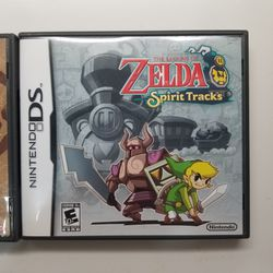 Zelda Spirit Tracks And The Zelda Phantom Hourglass for Sale in Cupertino,  CA