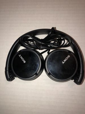 Sony MDR-ZX110 Stereo Headphones for Sale in Norwalk, CA