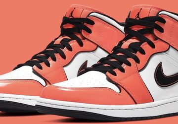 "Air Jordan 1 Mid ""Turf Orange"" Size 9 DS for Sale in West Covina,  CA"