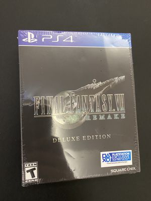 FINAL FANTASY VII Remake Deluxe Edition PS4 for Sale in Huntington Beach, CA