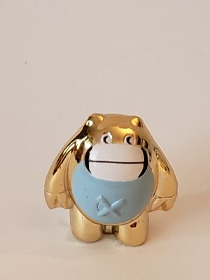 Gogo's gold edition toy figurine: chubby with blue shirt for Sale in Plainville, CT