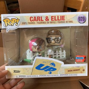FunkoPop! Disney Pixar's UP Carl And Ellie 2020 NYCC for Sale in Dinuba, CA