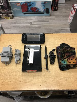Nintendo Wii U Console - 32GB Black Deluxe Set ..... for Sale in Baltimore, MD