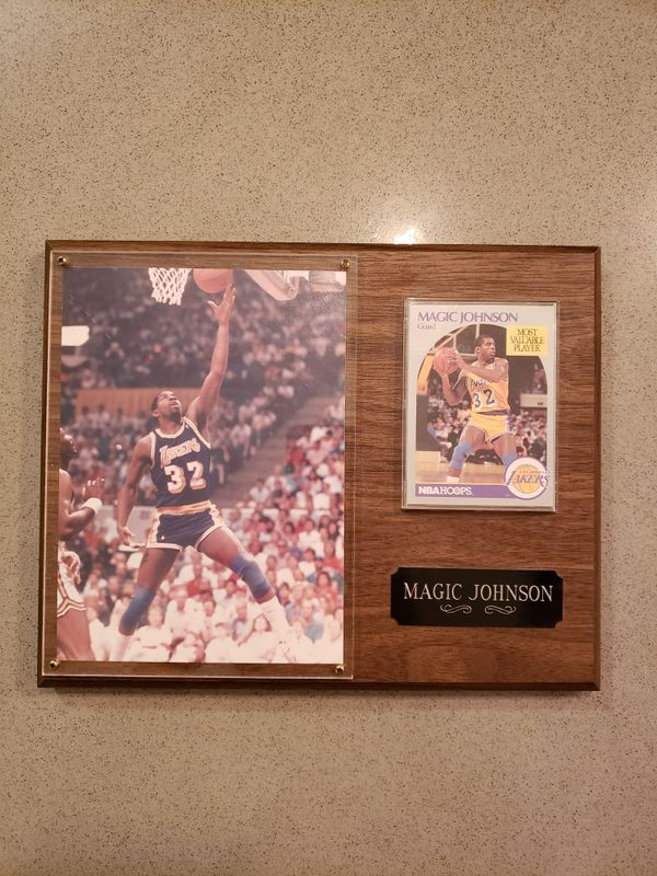 Magic Johnson MVP Photo & Card