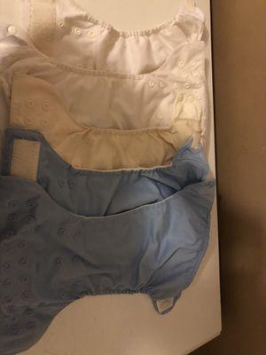 5 bum genius diapers + 26 inserts - $20 for Sale in San Diego, CA